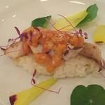レストラン ロダン - ウニとアナゴの寿司