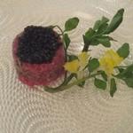 レストラン ロダン - 牛肉のタルタル、キャビアのせ