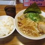 清勝丸 - 背脂醤油ラーメン&ランチ白飯