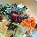 和牛焼肉 泰山 - 冷麺・小ピビンバセット