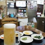ソウル食堂 - 生ビール