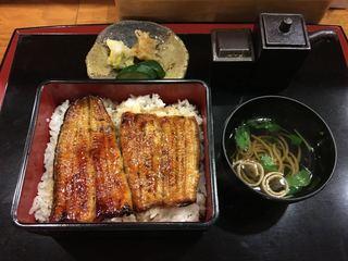 うなぎや東條 - うな重 並(2250円)