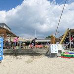 海の家 はしもと - 「海の家 はしもと」さん。糸島市深江海水浴場にあります。