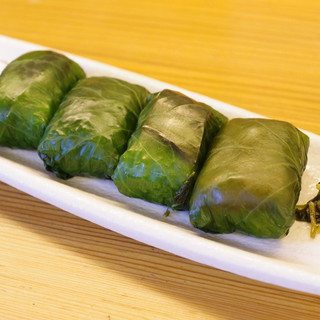 赤玉食堂 - 料理写真:わさび寿司