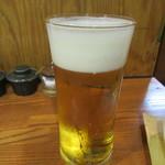 石臼挽きうどん しゅはり - 「生ビール」