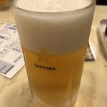 東都グリル - 生ビール