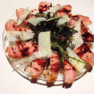 低温調理で火入れしたお肉のバリエーションが増えてます!