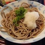 もりけん - もりけん定食 おろし蕎麦