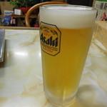 ホルモン道場 - 生ビール