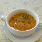 90208809 - ランチのスープ