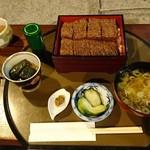 日本料理 筑膳 - 自然薯と豆腐の蒲焼き丼
