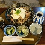 日本料理 筑膳 - 自然薯豆腐のぶっかけそば