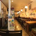 ハッピー食堂 - 内観パノラマ