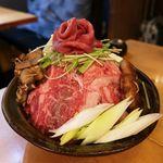 90211388 - 食べホ第一弾の「肉タワー」