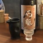 90212367 - 純米 土用酒 石鎚 一合(980円)