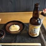 和み茶屋 - 日光路麦酒 620円、ひきあげゆば♪