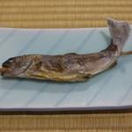 90214602 - 1日目夕食②(岩魚塩焼き)