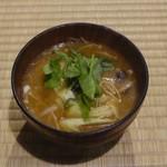 90214605 - 1日目夕食③(山の芋鍋)