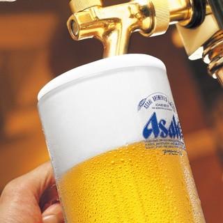 【種類豊富な飲み放題】生ビールやイタリアワインやカクテル多数