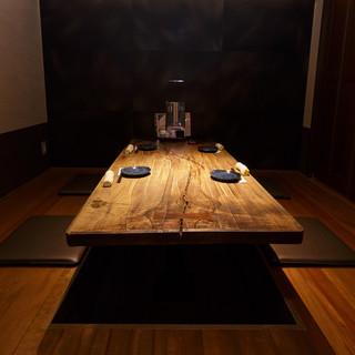 <2名~6名様用>の【個室】が大人気◎ゆったりとお食事を…。