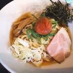 松屋食堂 - 料理写真:冷やし梅らーめん(850円)