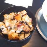 松屋食堂 - 焼豚ごはん(350円)