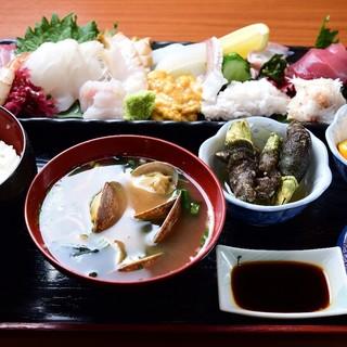 名物殿様海鮮丼定食