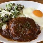 Dining Cafe & Bar Memoria - ロコモコ丼。これにドリンクが付いて700円