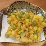 90220752 - トウモロコシと枝豆のかき揚げ