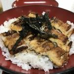みどり食堂 - 焼き穴子丼(2018.8.2)
