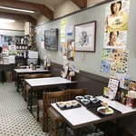 みどり食堂 - 右手テーブル席たち(2018.8.2)