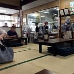 森田屋総本店 - 席に座ってパシャ