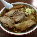 森田屋総本店 - チャーシュー麺(850円)が・・・早!!( ; ロ)゚ ゚