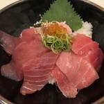 堂島とろ家 - 「極~KIWAMI~」まぐろづくし丼 1580円