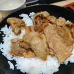 一ゆう - 豚焼肉丼(18-08)