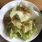 台湾家庭料理 園 - サラダ。 美味し。
