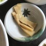 台湾家庭料理 園 - メンマ。 美味し。