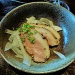 美食 米門 - お通しの鴨肉