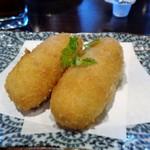美食 米門 - カニコロッケ