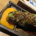 四谷三丁目 今井屋本店 - 卵黄をつけて♪