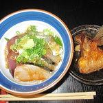 漁師めし みなと食堂 - 本日のどんぶり定食