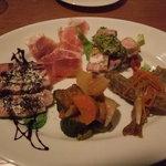永福町 ichi - 前菜の盛り合わせ(1500円)