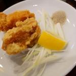 珉珉 - 鶏の唐揚げのUP。