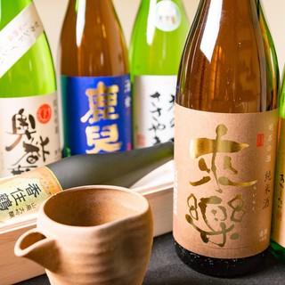 兵庫の地酒が約10種