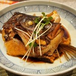 う我寿 - 鯛のアラ煮