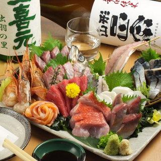 お魚の質に妥協なし!美味しい海鮮とお酒を楽しめます。
