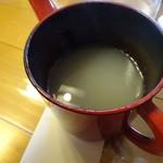 清水 - 蕎麦湯