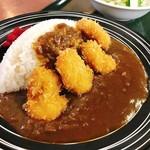 レストラン 海朱 - 帆立フライカレー 1000円