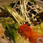 旬菜 個室 ぎんのうろこ - 銀のうろこサラダ