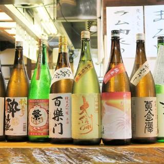 【毎週入れ替わる/純米酒25種】90分飲み放題/2000円!